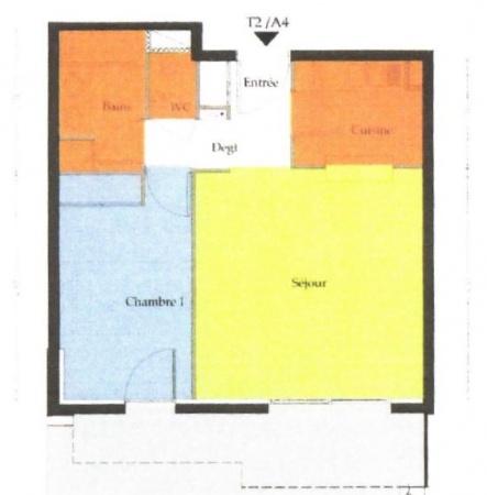 Capbreton, 1 Chambre Chambres, ,1 Salle de bainsSalle de bain,T2,Vente,1245